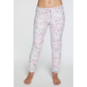 Chaser Floral Party Sweatpants NWT